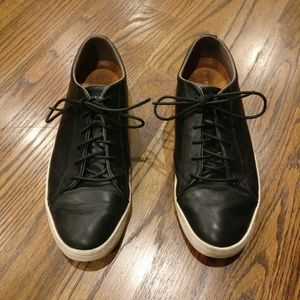 Cole Haan Black Trafton Cap Sport Oxfords